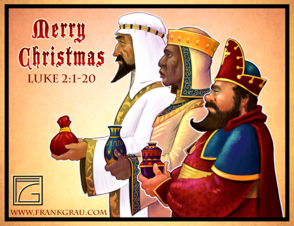 Three Wise Men Kings magi Christmas